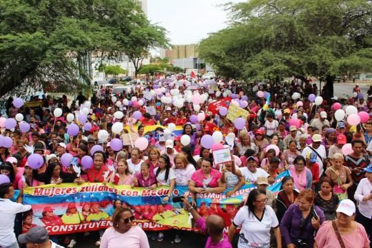 Marcha por la Paz del Poder FemenIno Socialista