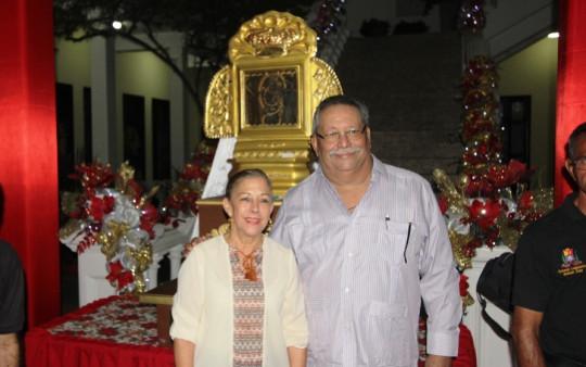 16 11 2017 EM Encendido de la Navidad en el Parlamento y visita de la Santa Patrona N,S del  Rosario (13)