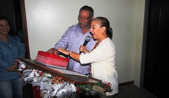 16 11 2017 EM Encendido de la Navidad en el Parlamento y visita de la Santa Patrona N,S del  Rosario (5)